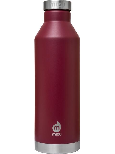 MIZU V8 Insulated Bottle with Stainless Steel Cap 800ml Enduro Burgundy